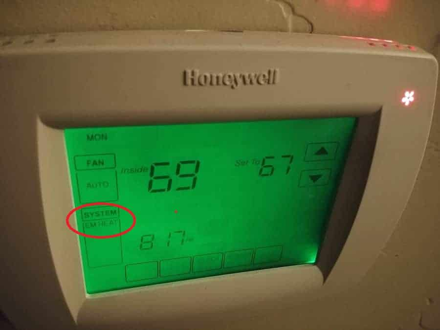 What Is Auxiliary Heat >> What Is The Difference Between Aux Ht And Em Heat Hvac
